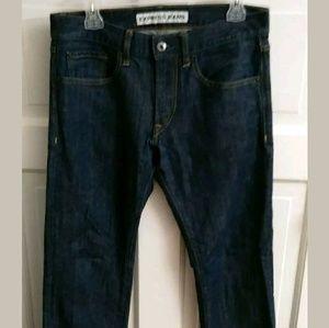 Express Rocco Slim Fit Straight Leg Jeans 30x30